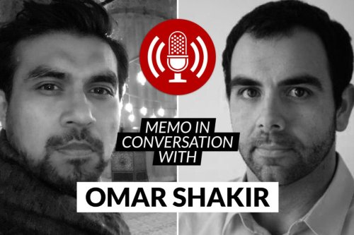 MEMO in conversation with Omar Shakir