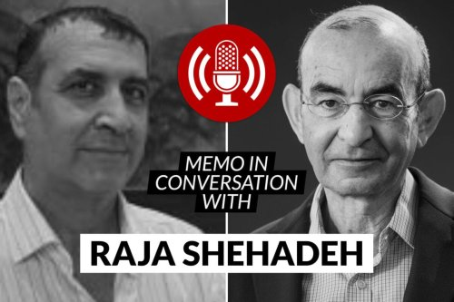 MEMO in conversation with: Raja Shehadeh