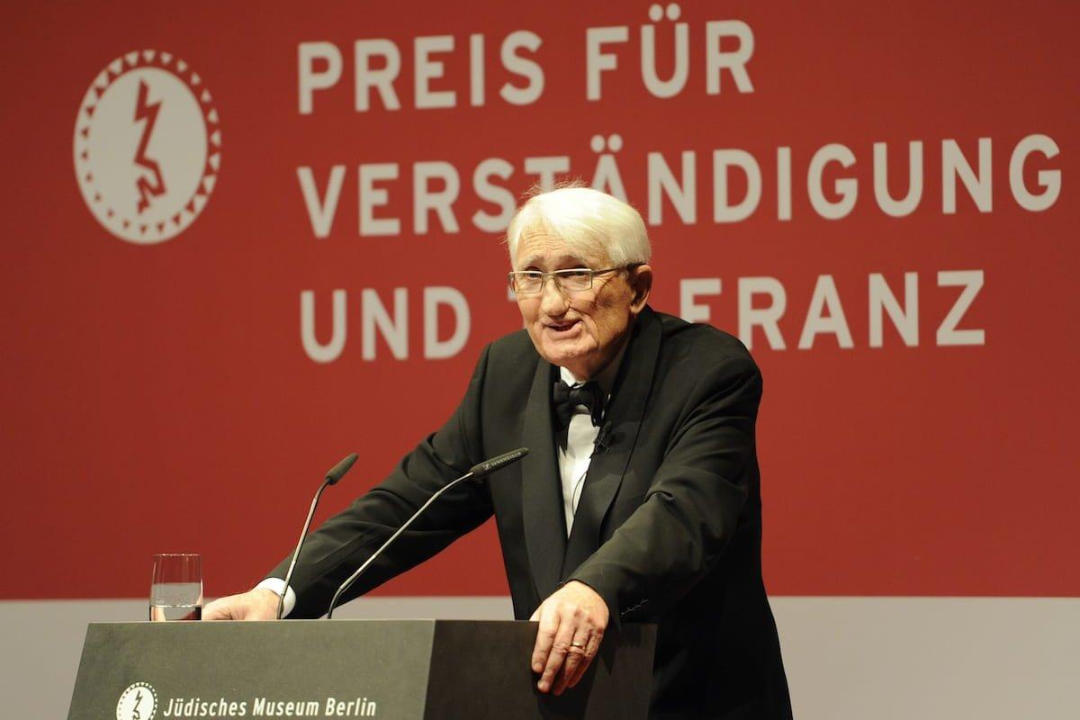 Professor Jurgen Habermas in Berlin, 13 November 2010. [ODD ANDERSEN/AFP via Getty Images]