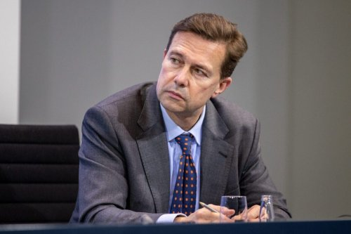 Government spokesman, Steffen Seibert on January 5, 2021 in Berlin, Germany [Andreas Gora/Pool/Getty Images]