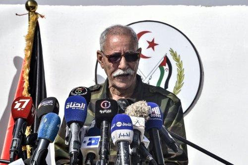 Brahim Ghali, President of the Sahrawi Arab Democratic Republic (SARD) and Secretary-General of the Polisario front on February 27, 2021 [RYAD KRAMDI/AFP via Getty Images]