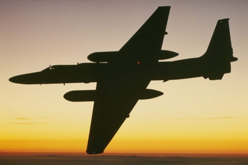 Lockheed Martin corporation U-2 reconnaissance aircraft. [Lockheed Martin/Getty Images]
