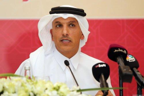 Former Finance Minister Ali Shareef Al-Emadi in the Qatari capital Doha, on 8 November 2015 [KARIM JAAFAR/AFP/Getty Images]