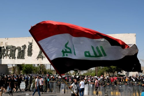 thumbnail - Iraq: 2 protesters killed in anti-gov't rally