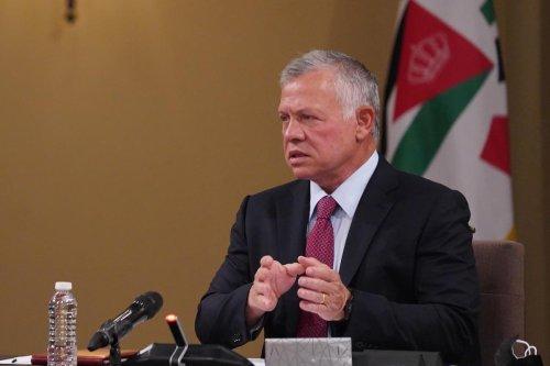 King of Jordan Abdullah II in Amman, Jordan on 8 June 2021 [JORDANIAN ROYAL COUNCIL/Anadolu Agency]