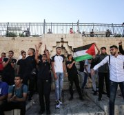 Israeli forces batter Palestinians protesting far-right Jews