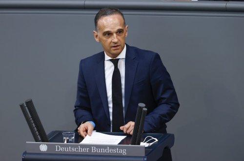 German Foreign Minister Heiko Maas in Berlin, Germany on June 23, 2021 [Abdulhamid Hoşbaş/Anadolu Agency]