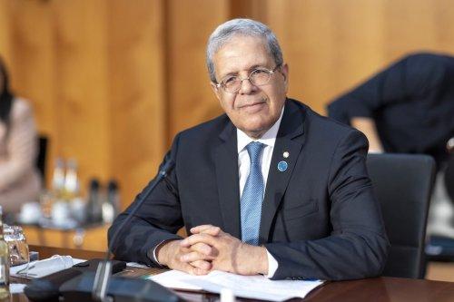 Foreign Minister of Tunisia, Othman Jerandi in Berlin, Germany on 23 June 2021 [Thomas Imo/photothek.de/Pool/Anadolu Agency]