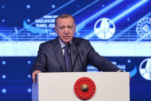 Turkish President Recep Tayyip Erdogan in Istanbul, Turkey on 26 June 2021 [İsa Terl/Anadolu Agency]