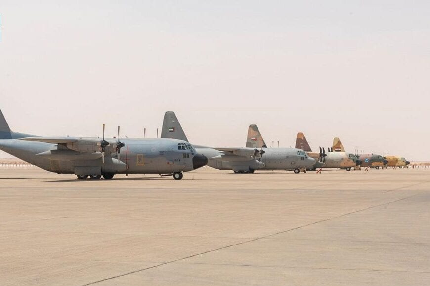 Saudi Arabia is hosting a joint air exercise with several Arab states at the Prince Sultan Air Base [@arabnews/Twitter]