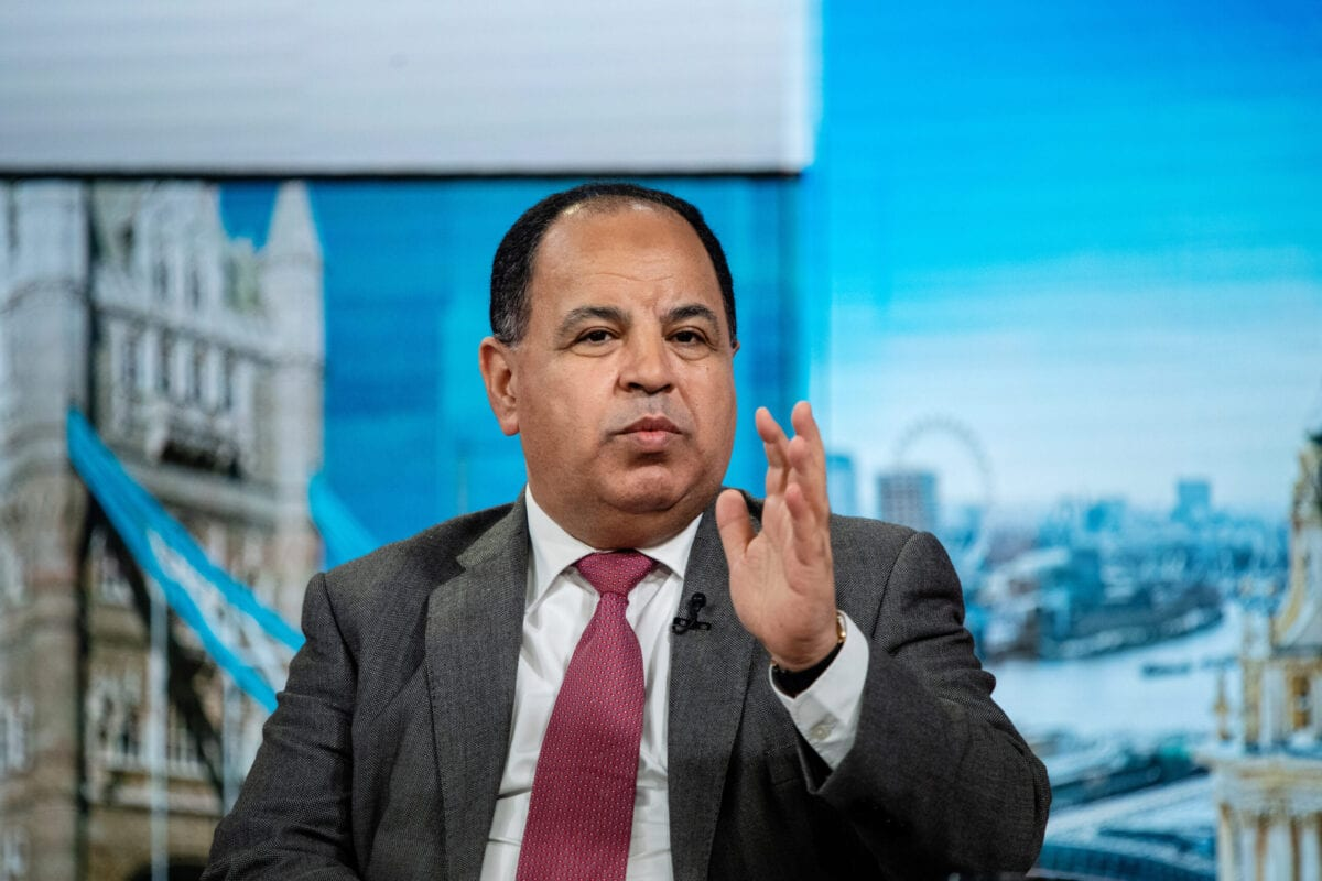 Mohamed Maait, Egypt's finance minister, speaks during a Bloomberg Television interview in London, UK, on Monday, June 24, 2019 [Chris J. Ratcliffe/Bloomberg via Getty Images]