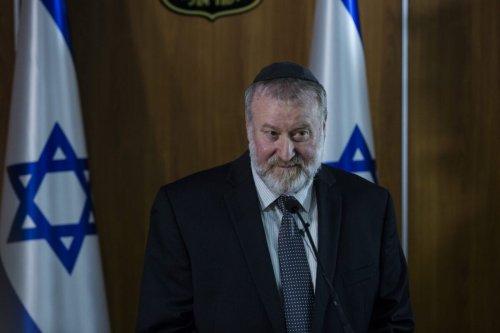 Avichai Mandelblit, Israel's Attorney General on November 21, 2019 in Jerusalem, Israel [Amir Levy/Getty Images]