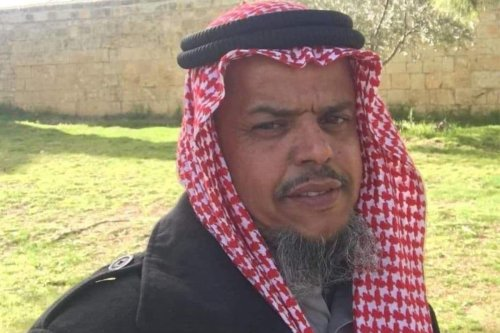 Member of the Higher Committee for Arabs of the Negev, Sheikh Osama Al-Uqbi, [asranews/Twitter]