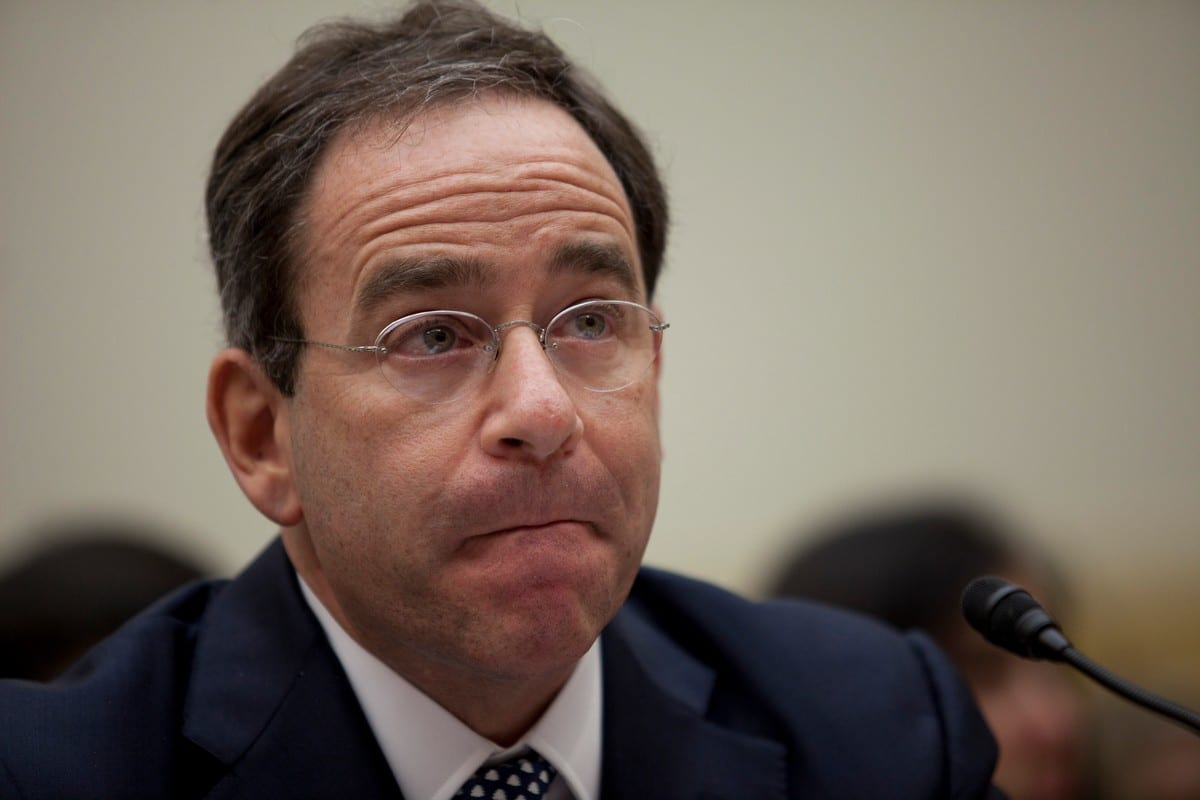 Thomas Nides, vice chairman of Morgan Stanley in Washington, DC on 20 December 2012 [Drew Angerer/Getty Images]