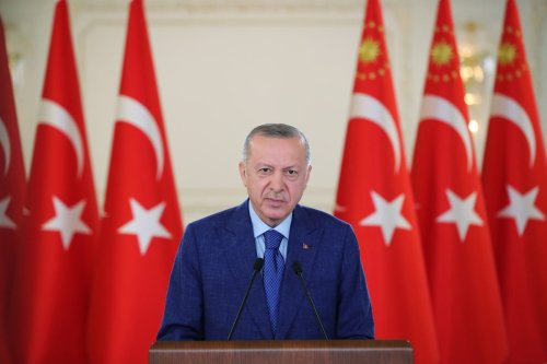 Turkish President Recep Tayyip Erdogan in Istanbul, Turkey on 11 June 2021 [Murat Kula/Anadolu Agency]
