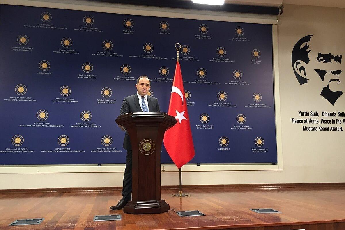 Foreign Ministry Spokesman Tanju Bilgic [Wikipedia]