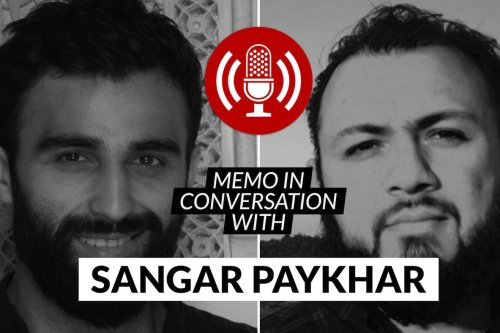 MEMO in conversation with: Sangar Paykhar