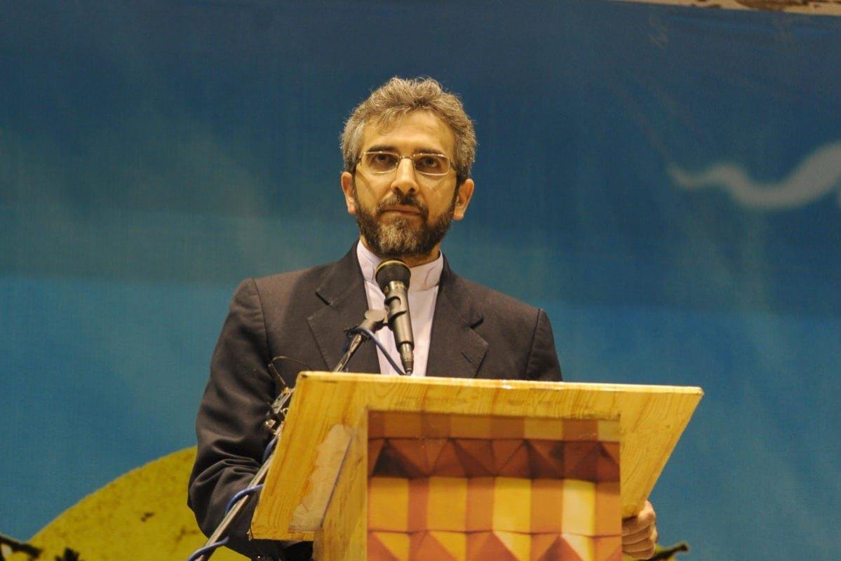 Iranian diplomat Ali Bagheri Kani on May 24, 2013 in Tehran, Iran. [Kaveh Kazemi/Getty Images]
