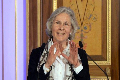 German ambassador in France Susanne Wasum-Rainer in Paris, on April 25, 2014 [PIERRE ANDRIEU/AFP via Getty Images]