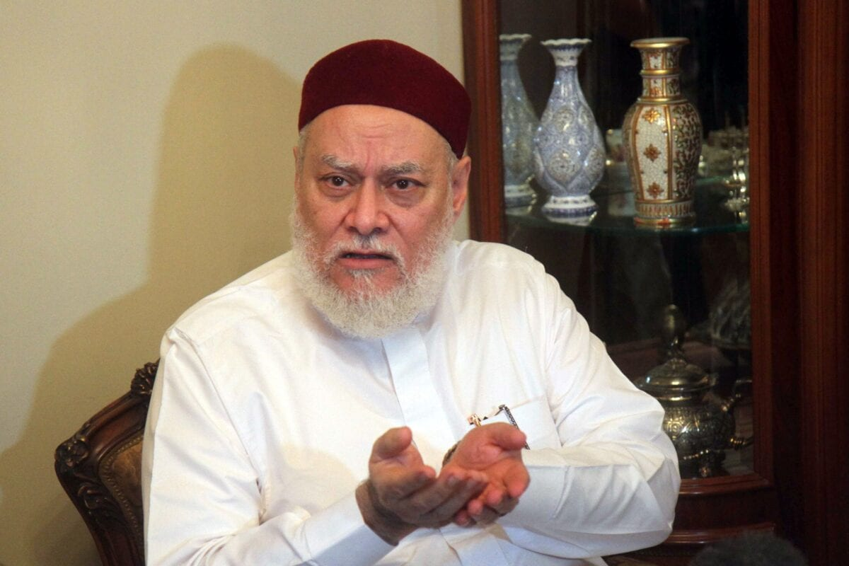 Former Egyptian mufti Ali Gomaa on August 5, 2016 [STRINGER/AFP via Getty Images]