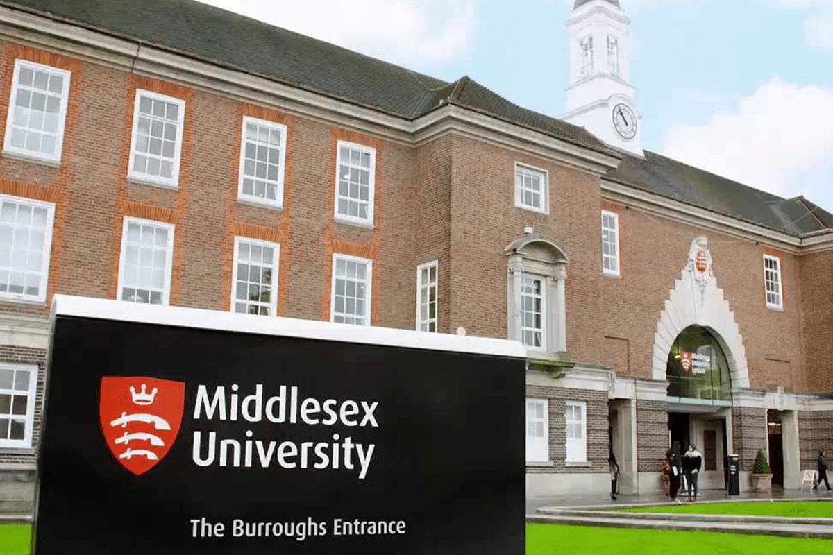 UK's Middlesex University [Wikipedia]