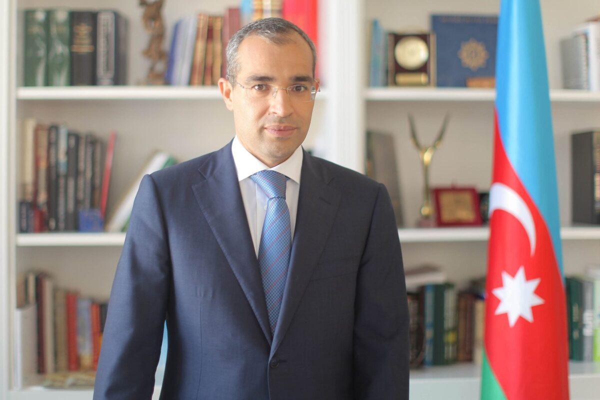 Mikayil Minister of Economy of Azerbaijan Mikayil Jabbarov [Wikipedia]