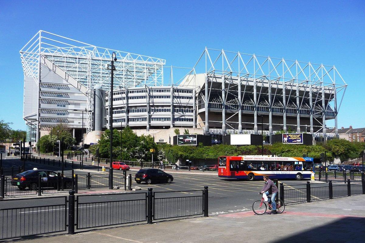 St James' Park Newcastle [Wikipedia]