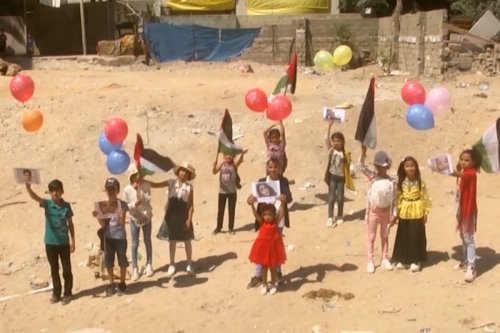 Thumbnail - Raising a case for Gaza's children
