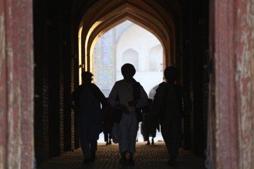 Taliban patrol in Herat, Afghanistan on 18 August 2021 [Mir Ahmad Firooz Mashoof/Anadolu Agency]
