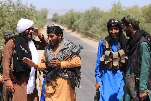 Taliban patrol the streets after took control in Herat, Afghanistan, on August 22, 2021 [Mir Ahmad Firooz Mashoof - Anadolu Agency]