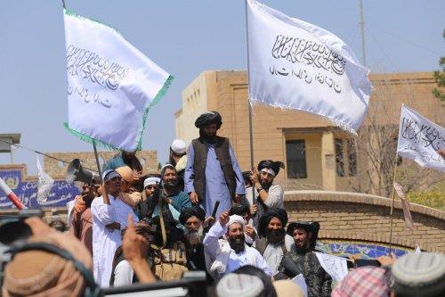 Taliban members in Herat, Afghanistan on 31 August 2021 [Mir Ahmad Firooz Mashoof/Anadolu Agency]