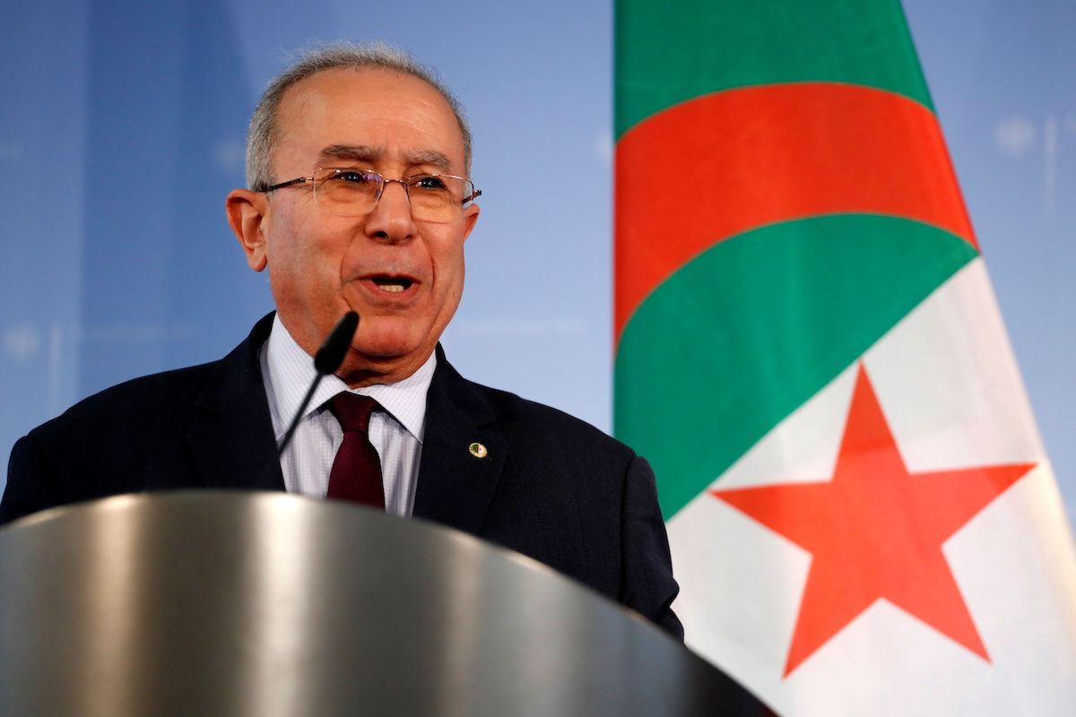 Algerian Foreign Minister Ramtane Lamamra on 20 March 2019 in Berlin. [ODD ANDERSEN/AFP via Getty Images]