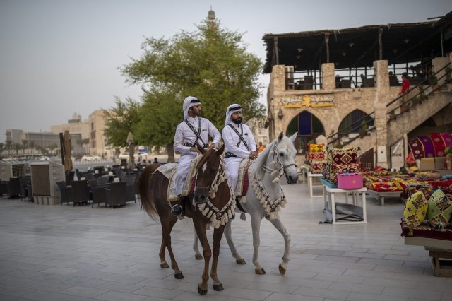 General view of the Souq Waqif, marketplace in Doha, prior to the 17th IAAF World Athletics Championships Doha 2019 on 25 September 2019 in Doha, Qatar. [Maja Hitij/Getty Images]