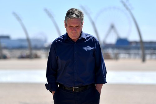 Labour Party leader Sir Keir Starmer on July 15, 2021 in Blackpool, England [Anthony Devlin/Getty Images]