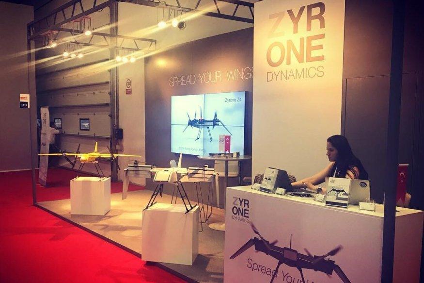 Zyrone Dynamics at International Defence Industries Fair IDEF [zyronedynamics/Facebook]