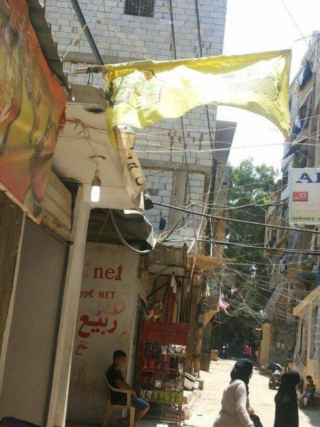Palestinian refugee camp in Lebanon [Middle East Monitor]