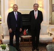 Turkey, Pakistan FM discuss ties in New York