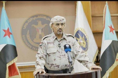 Aidarous Al-Zoubeidi, head of Yemen's Southern Transitional Council (STC