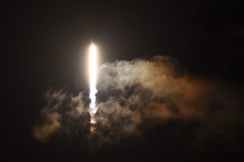 A Falcon 9 rocket with a Crew Dragon capsule launches from pad 39A at NASA's Kennedy Space Center at Cape Canaveral, Florida, United States on 15 September 2021. [Paul Hennessy - Anadolu Agency]