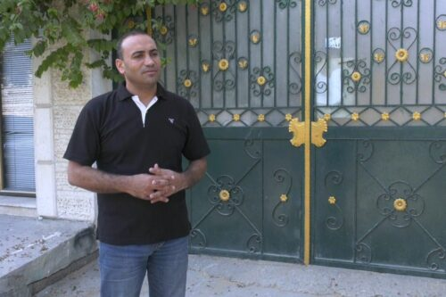 Mohammad Abu Jayyab, chief editor of Al-Eqtisadiyeh newspaper