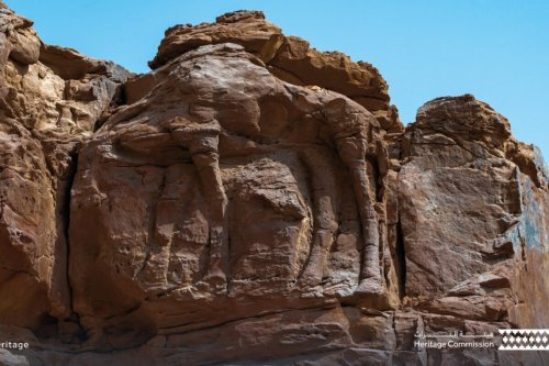 Saudi's camel carvings thought to be world's oldest life-size sculptures