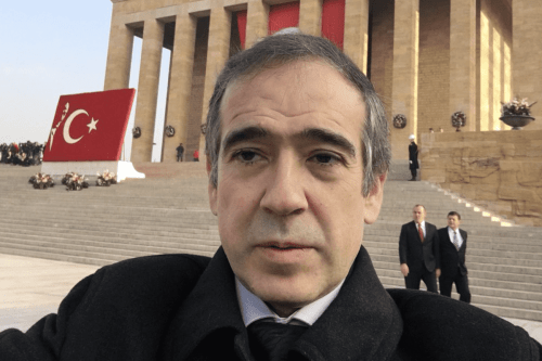 Firat Sunel, Turkey's envoy to India [Twitter]