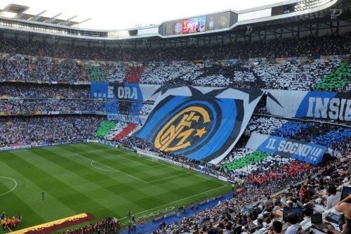 The logo of Inter Milan is displayed bef