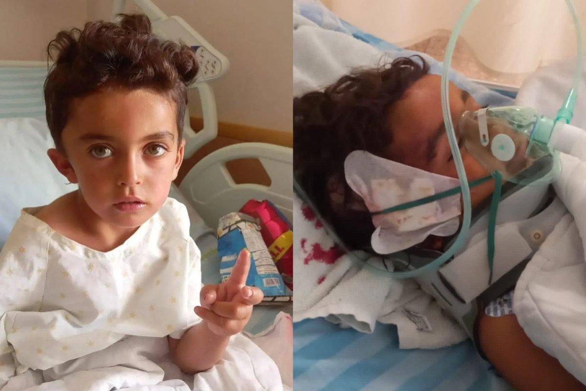 4-year-old Muhammad Hamamdeh [haifaa_k/PalestinianPic/Twitter]