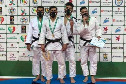 Algerian judoka Fethi Nourine [Fethi Nourine]
