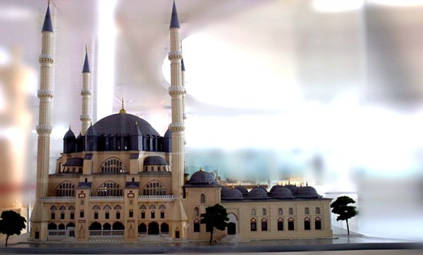 Model of a mosque [Islamic Arts Museum Malaysia]