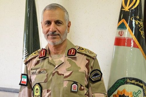 Border Guard Commander in the Iranian Law Enforcement Force Brigadier-General Ahmed Ali Goudarzi [irna.ir]