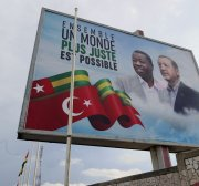 Turkish president welcomed in Togo with official ceremony