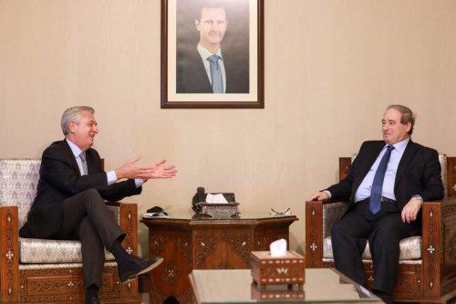 UN refugee chief meets Syria regime to discuss refugee return