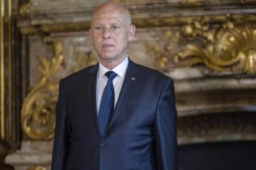 President of the Republic of Tunisia Kais Saied at the Royal Palace on June 03, 2021 in Brussels, Belgium [Olivier Matthys/Getty Images]